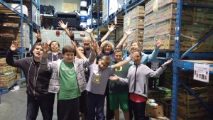 Youth Group Sept 25 2015 Food Bank